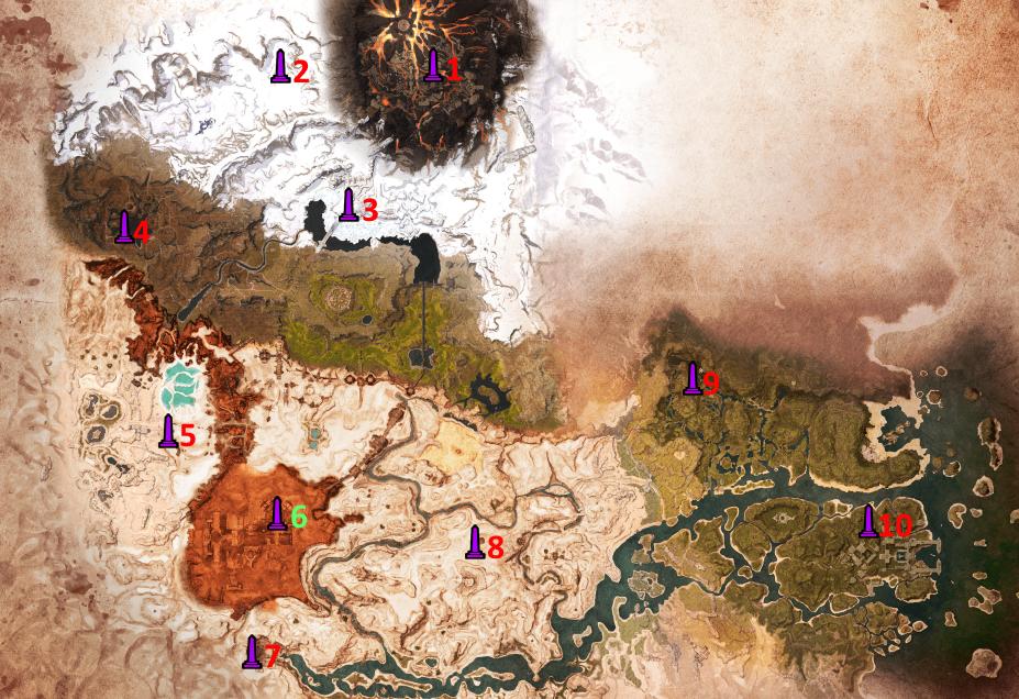 Conan Exiles map obelisk