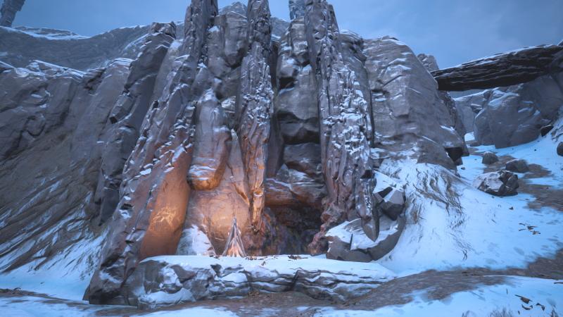 Пещеры Джила - вход в Обрезки